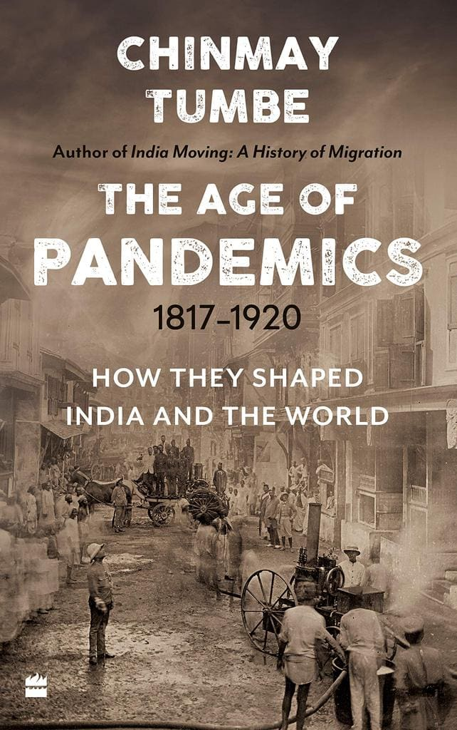 Chinmay Tumble's The Age of Pandemics Cover